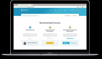 DataCamp Course Page